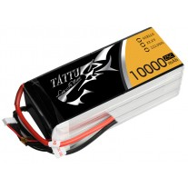 Tattu 10000MAH 22.2V 25C 6S1P Lipo Battery Pack with EC5 Plug