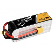 Tattu 4500mAh 22.2V 25C 6S1P Lipo Battery Pack with XT90