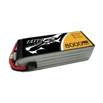Tattu 8000mAh 18.5V 25C 5S1P Lipo Battery Pack with EC5