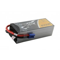 Tattu 8000mAh 22.2V 25C 6S1P Lipo Battery Pack with EC5