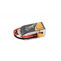 TATTU 1550mAh 14.8V 75C 4S1P Lipo Battery Pack with XT60 Plug