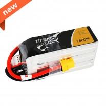 TATTU 1800mAh 75C 6S1P Lipo Battery Pack with XT60