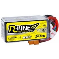 Tattu R-Line 1550mAh 95C 4S1P lipo battery pack for FPV Racing Drone