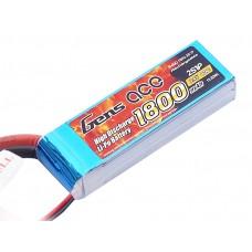 Gens ace 1800mAh 7.4V 40C 2S1P Lipo Battery Pack