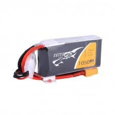 Tattu 1050mAh 11.1V 75C 3S1P Lipo Battery Pack with XT60