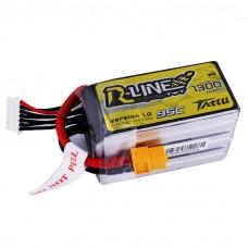 Tattu R-Line 1300mAh 95C 6S1P lipo battery pack