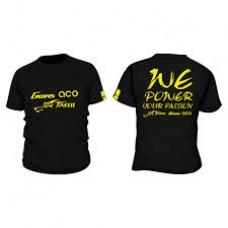 Gens ace TATTU Black T-Shirt-XXL