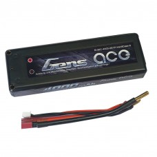 USED-Gens ace 4000mAh 7.4V 30C 2S1P HardCase Lipo Battery 9# with New Packing