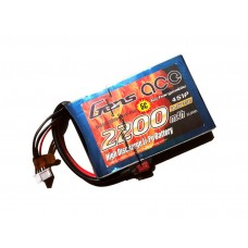 Gens ace 2200mAh 14.8V 35C 4S1P Flat Pack --Multirotors