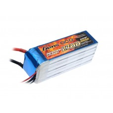 Gens ace 2700mAh 22.2V 35C 6S1P Lipo Battery Pack