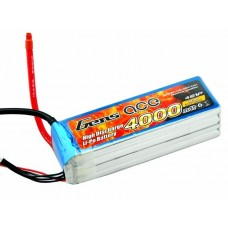 Gens ace 4000mAh 14.8V 60C 4S1P Lipo Battery Pack