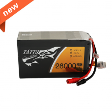 Tattu 28000mAh 22.2V 25C 6S1P Lipo Battery Pack