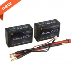 USED-Gens ace 5700mAh 7.4V 60C 2S3P Hardcase Car Lipo Battery 26#(EFRA & BRC approved)