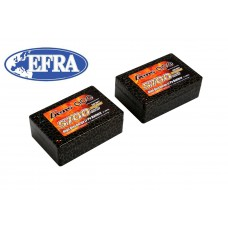 Gens ace 5700mAh 7.4V 50C 2S3P Saddle Lipo Battery 12#(EFRA approved)