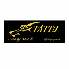 Tattu banner 4m black/yellow