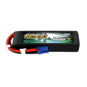 Gens ace 6500mAh 11.1V 60C 3S1P Lipo Battery Pack with EC5-Bashing Series