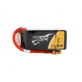 TATTU 1300mAh 3S 11.1V 75C Lipo Battery Pack with XT60