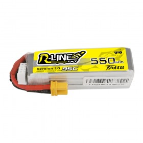 Tattu R-Line 550mAh 11.1V 3S1P 95C Lipo Battery with XT30