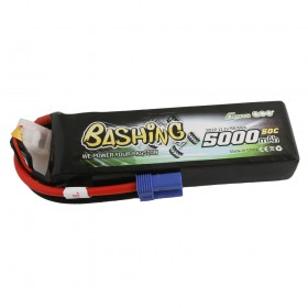 Gens ace 5000mAh 11.1V 3S1P 50C Lipo Battery Pack with EC5 Plug-Bashing Series