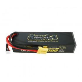 Gens ace 8000mAh 11.1V 100C 3S1P Lipo Battery Pack with EC5-Bashing Series
