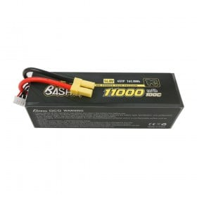 Gens ace 11000mAh 14.8V 100C 4S2P Lipo Battery Pack with EC5-Bashing Series