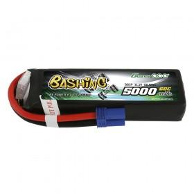 Gens ace 5000mAh 11.1V 3S1P 60C Lipo Battery Pack with EC5 Plug-Bashing Series
