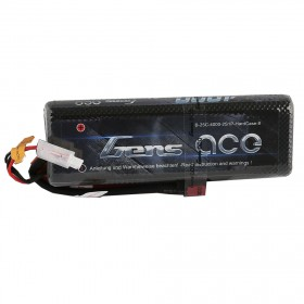 Gens ace 4000mAh 7.4V 25C 2S1P HardCase Lipo Battery 8# with Deans Plug