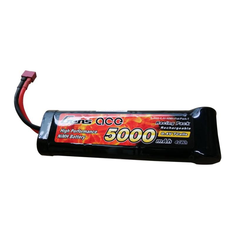B-5000-8.4V-NIMH-Flat-Pack-T