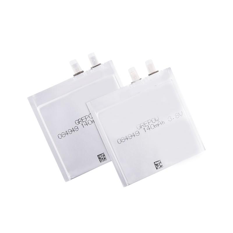 Grepow 140mAh 3.8V Rectangle Shaped Lipo Battery 0849049