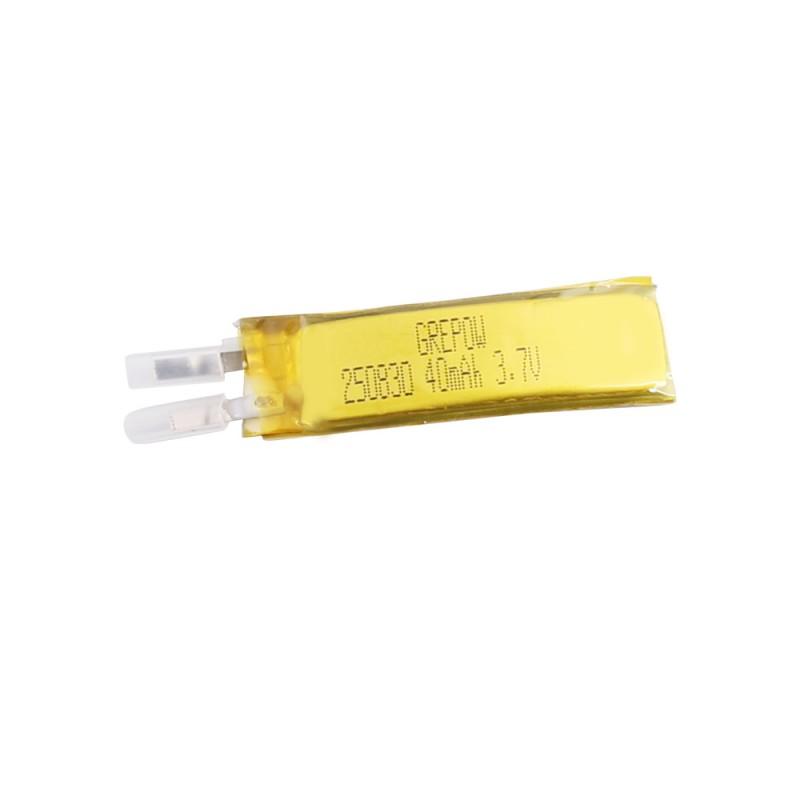 Grepow 40mAh 3.7V Curve Shape Lipo Battery