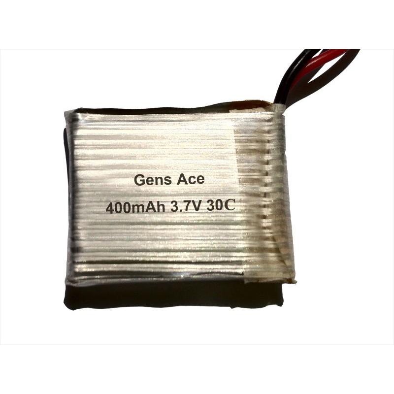 Gens ace 400mAh 3.7V 30C 1S2P Lipo Battery Packs