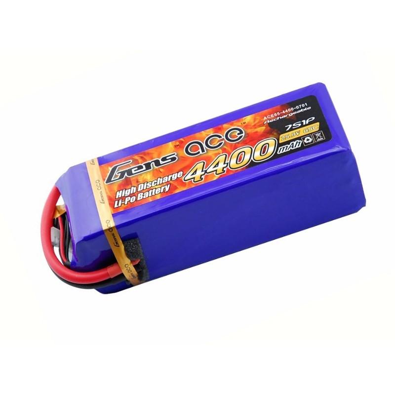 Gens ace 4400mAh 25.9V 65C 7S1P Lipo Battery Pack