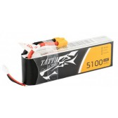 Tattu 5100mAh 11.1V 10C 3S1P Lipo Battery Pack