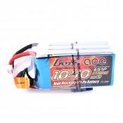 Gens ace 1050mAh 22.2V 45C 6S1P Lipo Battery Pack