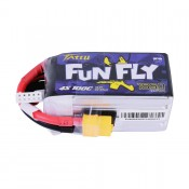 Tattu Funfly Series 1550mAh 14.8V 100C 4S1P Lipo Battery Pack with XT-60 Plug
