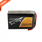 Tattu 30000mAh 22.2V 25C 6S1P Lipo Battery Pack with AS150+XT150