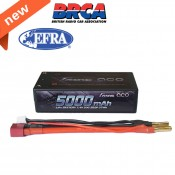 Gens ace 5000mAh 50C 7.4V 2S2P HardCase shorty Lipo Akku 29# new packing (EFRA & BRC approval)