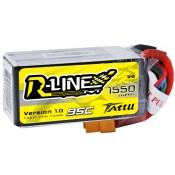 Tattu R-Line 1550mAh 95C 4S1P Lipo Battery Pack for FPV Racing Drone