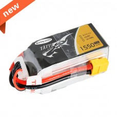 TATTU 1550mAh 14.8V 75C 4S1P Lipo Battery Pack--Specially Made for Victory with Limited Edition
