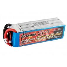 Gens ace 3700mAh 22.2V 60C 6S1P Lipo Battery Pack