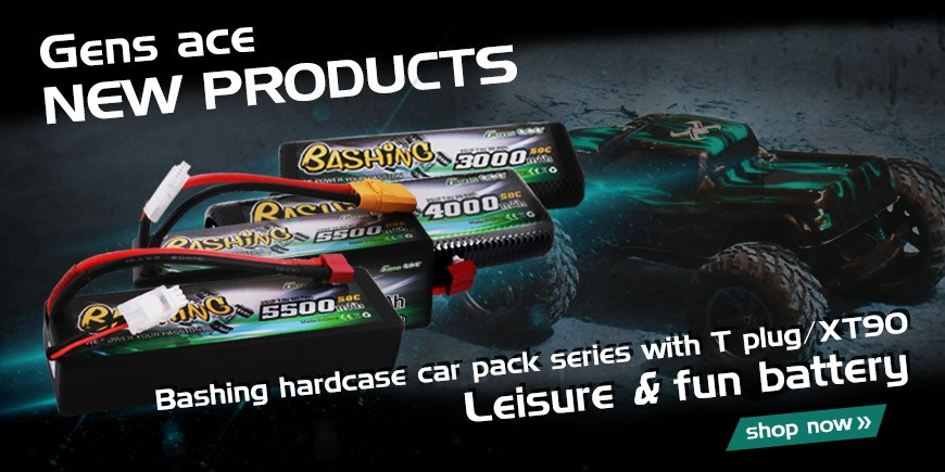 Gensace Bashing Series car lipo batteries