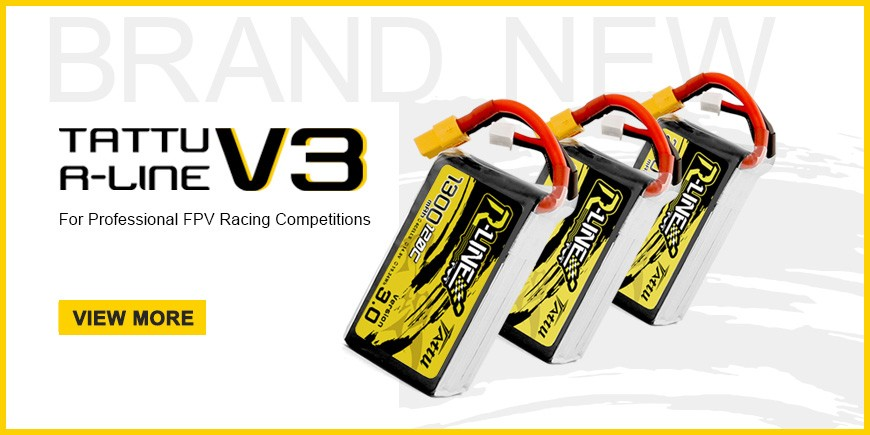 Tattu R-Line Version 3.0 Battery For FPV Racing Drone