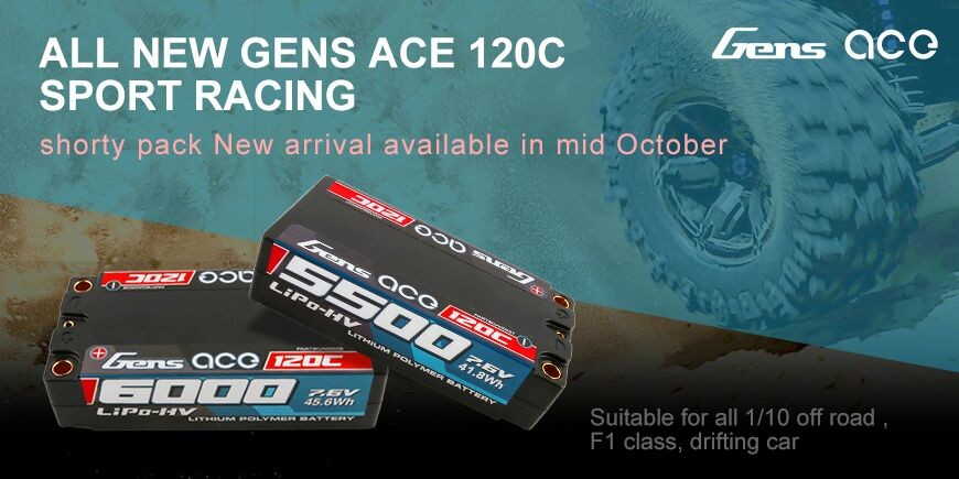 All New Gens Ace 120C Sport Racing Shortly Pack
