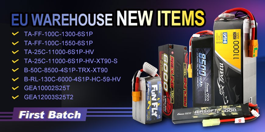 EU warehouse new items