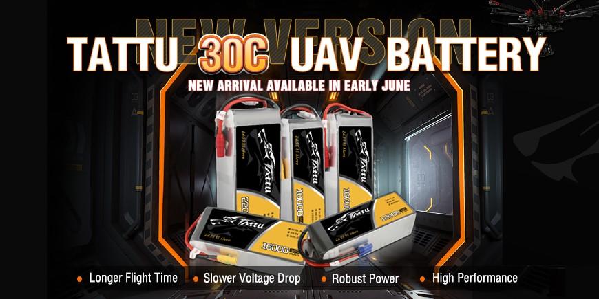 Tattu 30C UAV Battery