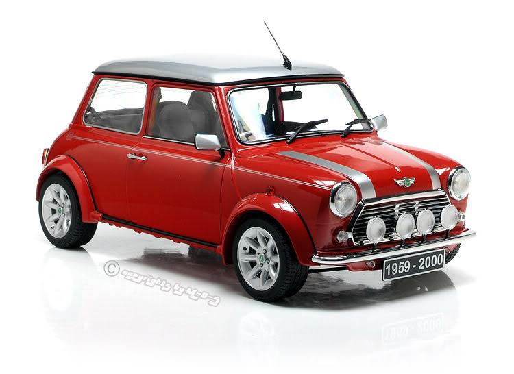 1/18 scale mini car