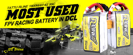 Tattu R-Line 1800mAh 4S 95C FPV Battery