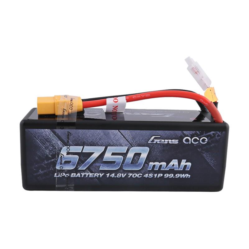 Gens Ace 6750mAh 4S 70c Lipo battery