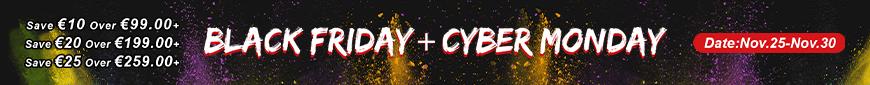 Black Friday&Cyber Monday sale