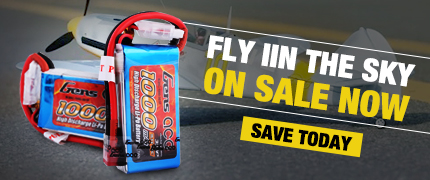 Gens ace RC airplane heli battery special deals